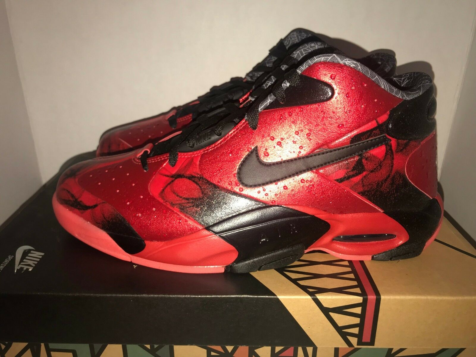 1bbf1372ce Nike Air Up 12 Nola Men's Size DS 652124 All-Star Gumbo 600 11 ...