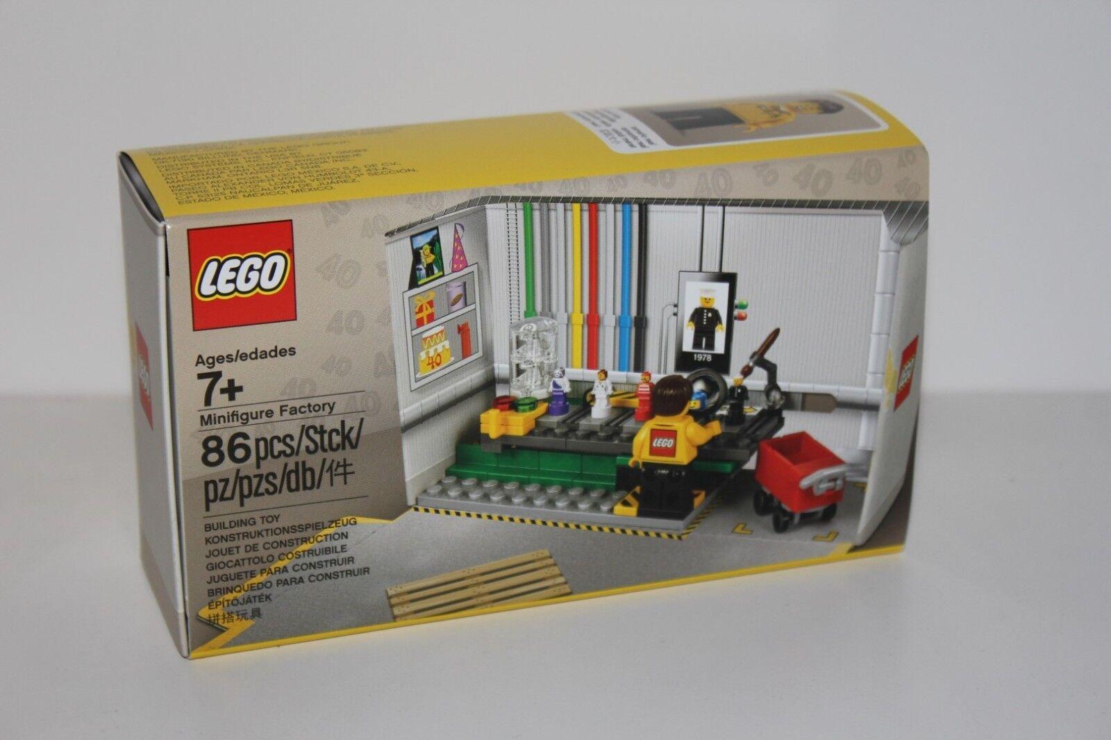 LEGO® 5005358 - Fabrik der Minifiguren Minifiguren Minifiguren - limitiert 459c00