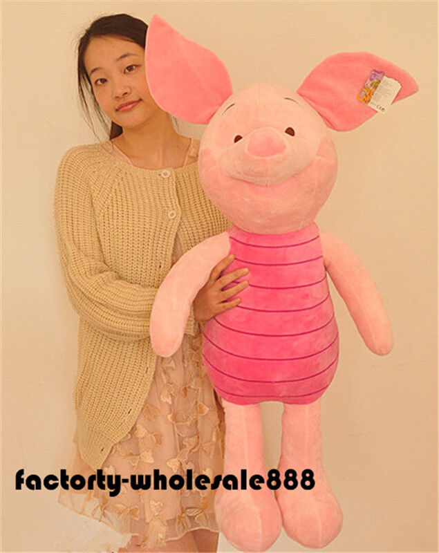 41'' Offical Store Winnie the Pooh Piglet Plush Toy Doll Stuffed Animal kid gift
