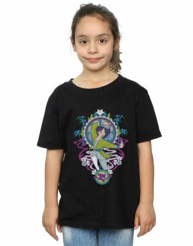 Disney Girls Mulan Ornamental T-Shirt