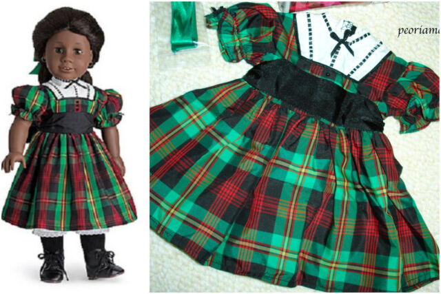 Christmas Green Dress.American Girl Addy Addy S Christmas Dress 2day Delivery