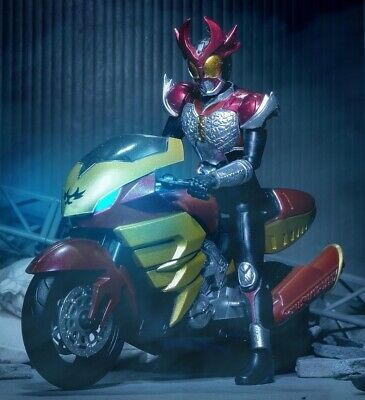 Bandai SHODO-X Kamen Rider 6 Agito Trinity Shining Machine Tornador Set of 6pcs
