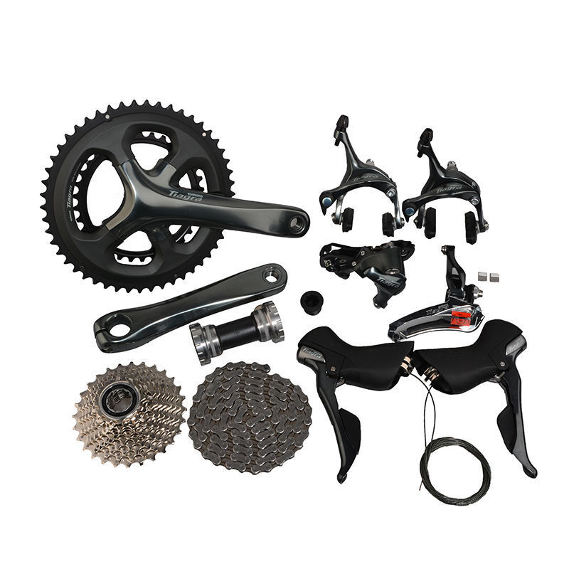 SHIMANO Tiagra 4700 Road Bike Groupset Groupset Groupset Groups Gruppos Compact 2x10-Speed Novice 89c498