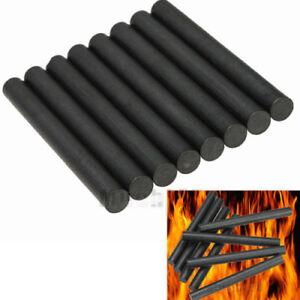 "3PCS 8x80mm Ferrocerium 5//16/"" Flint Fire Starter Survival Magnesium Rod Kits"