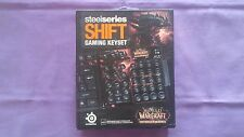 SteelSeries Shift Gaming Keyset Gaming Keyset WarCraft : Cataclysm Tout Neuf
