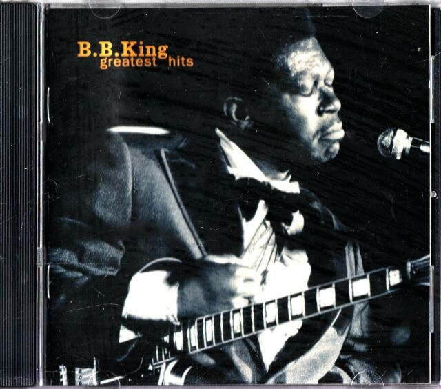 B.B KING - The best Of/Greatest Hits CD 1998 Blues/Live (Robert Cray) Guitar