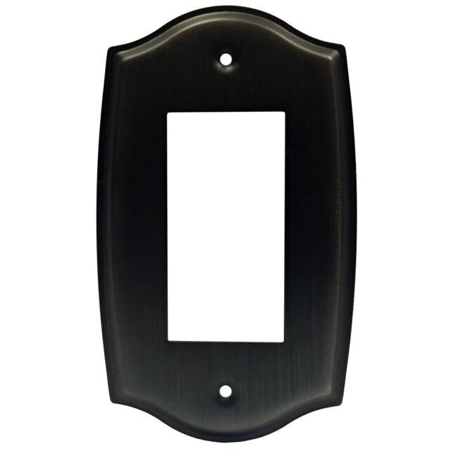 Oil Rubbed Bronze Single Decora GFI Switch Wall Plate
