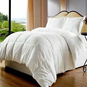 Pato-Ganso-de-calidad-de-hotel-de-lujo-Pluma-amp-Abajo-Edredon-todas-las-tallas-10-5-13-5-Tog
