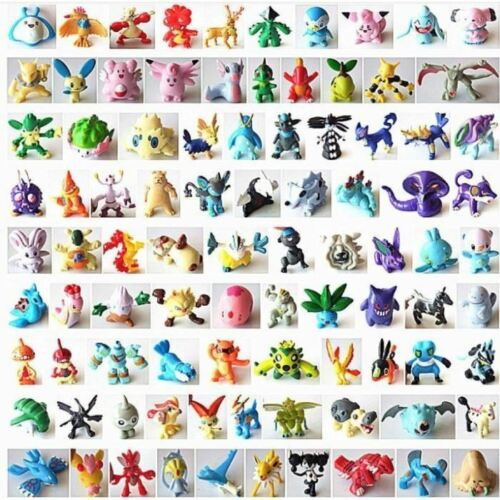 cheap Lot of 24 pokemon figurines new birthday gift fast dispatch