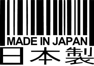 Choose Size /& Color Kawasaki Kanji Vinyl Sticker Decal JDM Japan Drift Racing