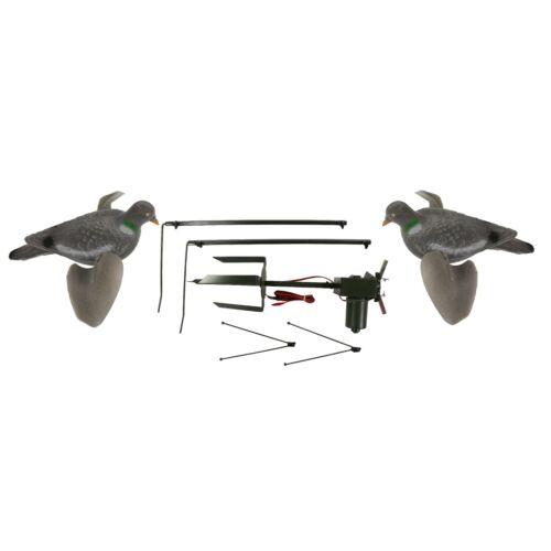 MAGNETE PER PICCIONI CON 2 x Air Pro Pigeon Esche ROTARY MACHINE DISINNESCO le riprese