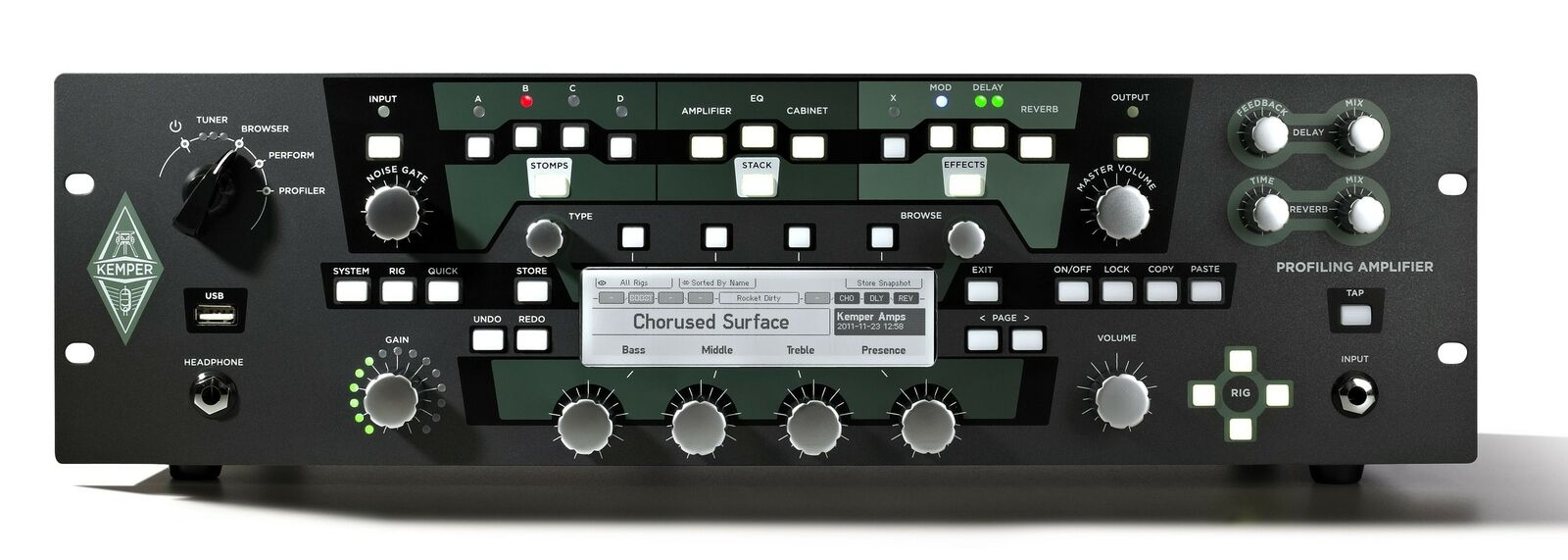 Kemper Profiler PowerRack Rackmount Guitar Amplifier. Buy it now for 1905.00