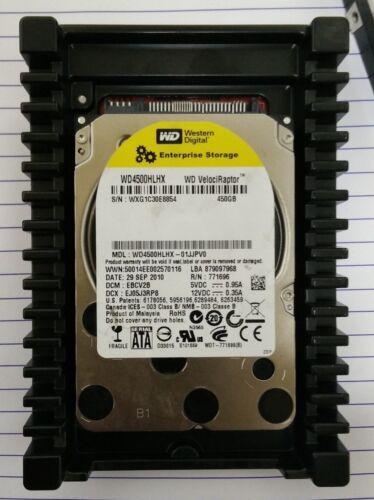 "Western Digital WD4500HLHX-01JJPV0 450GB 2.5/"" 10K 6GBps Hard Drive w// 3.5/"" Tray"