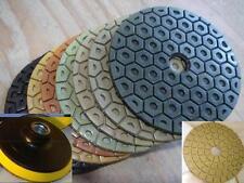 Wet Dry Diamond Polishing Pads 4 Inch Set Kit For Granite Concrete Marble THICK
