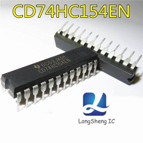 5pcs NEW CD74HC154EN TI 74HC154 DIP-24