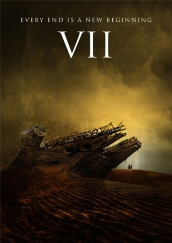 """Star Wars Episode 7 The Force Awakens Movie Poster 18x13/""""  S11"""