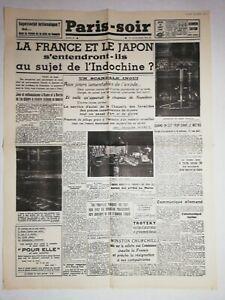 N1144-La-Une-Du-Journal-Paris-soir-22-aout-1940-la-France-et-le-Japon