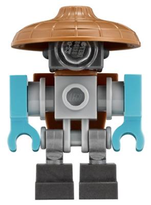 Lego New Mannequin w// Hood from Set 70620 Ninja Ninjago Movie Minifigure Figure