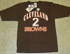 Tim Couch BRAND NEW WITH TAGS Cleveland Browns Jersey T-Shirt sz. XL 2 sides