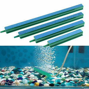 Newly Fish Tank Aquarium Decor Air Stone Bubble Wall Tube