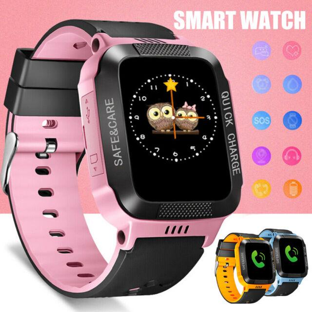 GPS Locator Kids Children Smart Watch with Camera Fitness Tracker SIM Card Slot