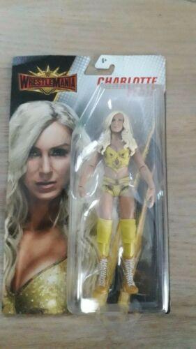 Charlotte Hardy Trish WWE combat 35 Mattel Basic Series-Cena Nash Elias