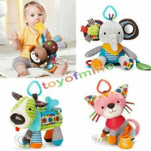 Soft-Pluesch-Kinderwagenkette-Spielzeug-Puppe-fuer-Kinderwagen-Baby-Bett