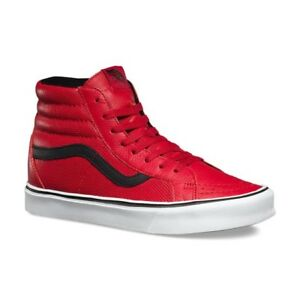 a9636df0961 New VANS Mens Sk8-Hi UltraCrush Lite RED VN-2Z5YJYU US M 8.5 - 9.5 ...