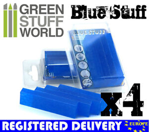 Blue Stuff - 4 bars - Make reusables instant mold - Warhammer Fantasy OOAK doll