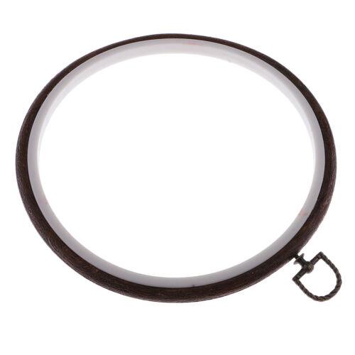 Stickrahmen aus Holz Kreis Kreuzstich Hoop Ring Set für Handwerk Nähen