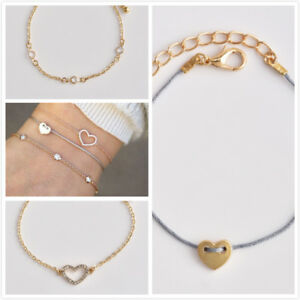 3pcs-set-Multilayer-Handmade-Rope-Chain-Bracelet-Set-Cuff-Bangle-Heart-Jewelry