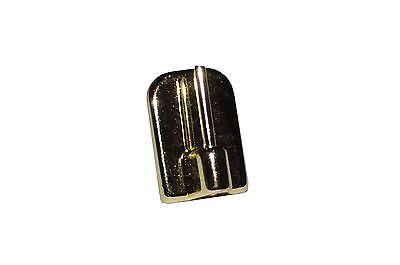 8 Stk. Selbstklebende Vitragenhaken für Gardinenstangen vergoldet - Nr 210