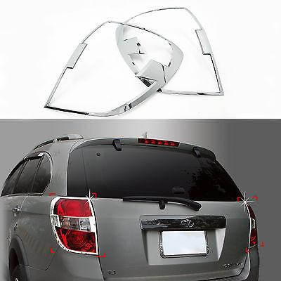 Tracking No. Chrome Exterior Rear Molding Trim Cover for 06~ Chevrolet Captiva