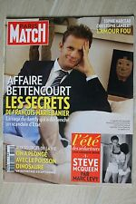 PARIS MATCH N° 3191--BETTENCOUR ET BANIER/MARCEAU-LAMBERT/STEVE MC QUEEN