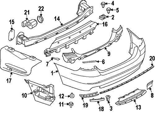 bmw oem 11 15 528i rear bumper side support left 51127184767 for Dodge Challenger Grill bmw oem 11 15 528i rear bumper side support left 51127184767 for sale online ebay