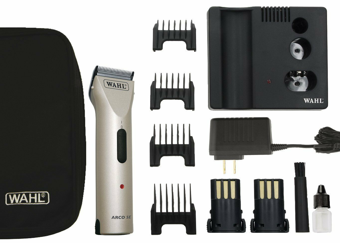 Professional Wahl Animal Pet Horse Clipper Cordless Arco SE Moser Pro Champagne