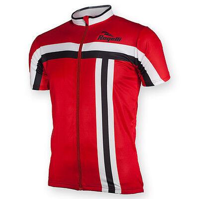 Mens Cycling Jersey Brescia Short Sleeve Full Zipper Race Fit Black White Yellow