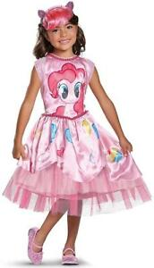 Pinkie Pie Equestrian Girl My Little Pony Fancy Dress Up Halloween Child Costume