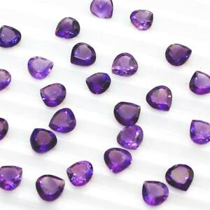 Wholesale-Lot-7mm-Pear-Cut-Natural-African-Amethyst-Loose-Calibrated-Gemstone