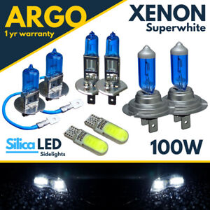 Fits-Vauxhall-Vectra-C-Phare-Brouillard-Ampoules-2002-08-XENON-100-W-Blanc-Cote-Lumiere