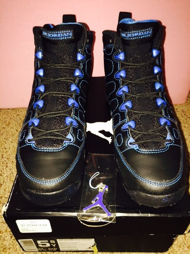 Air Jordan 9 Retro Photo Blue Black Bottom Speckle 5.5 1/1 By DezineDope Comfortable and good-looking