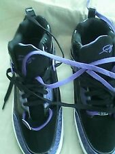fubu purple black tennis shoes. size 9 1/2 new