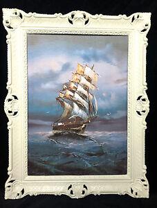CUADRO-BARCO-DE-VELA-MAR-schiffsbilder-seestuck-MAR-TIMO-Blanco-Barcos-90x70