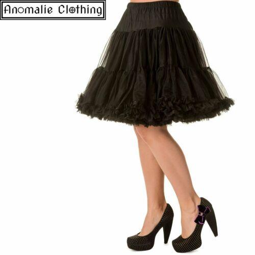 """20/"""" Short Dancing Days Petticoat in Black"""