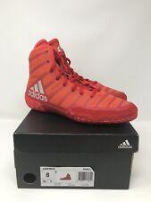 48956f56103 adidas Adizero Varner Men s Wrestling Shoes White red navy M18728 8 ...