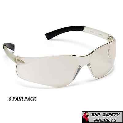 Mini Ztek Safety Glasses I//O Mirror Frame//Indoor//Outdoor Mirror Lens Wrap-around