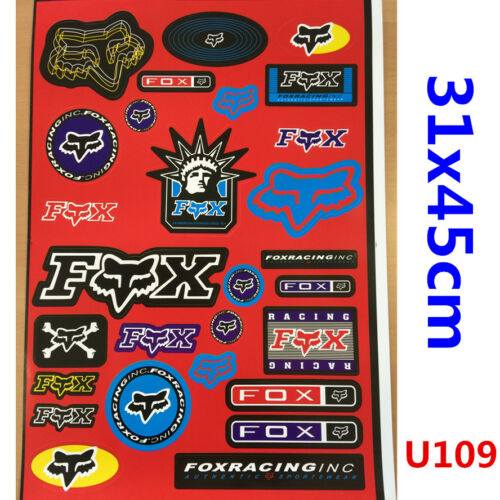 Sticker Decals Sheet Car Motorcycle Motorcross PIT TRAIL DIRT QUAD BIKE ATV CAR
