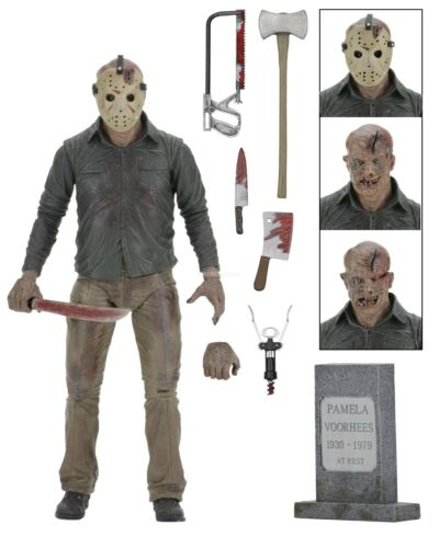 Friday the 13th - 7 Action Figure - Ultimate Part 4 Jason - NECA