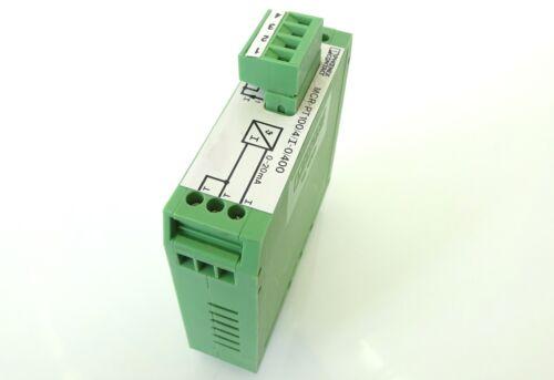 Phoenix Contact MCR-PT100//4//I-0//400 Messumformer Converter 2768395 Lagerräumung