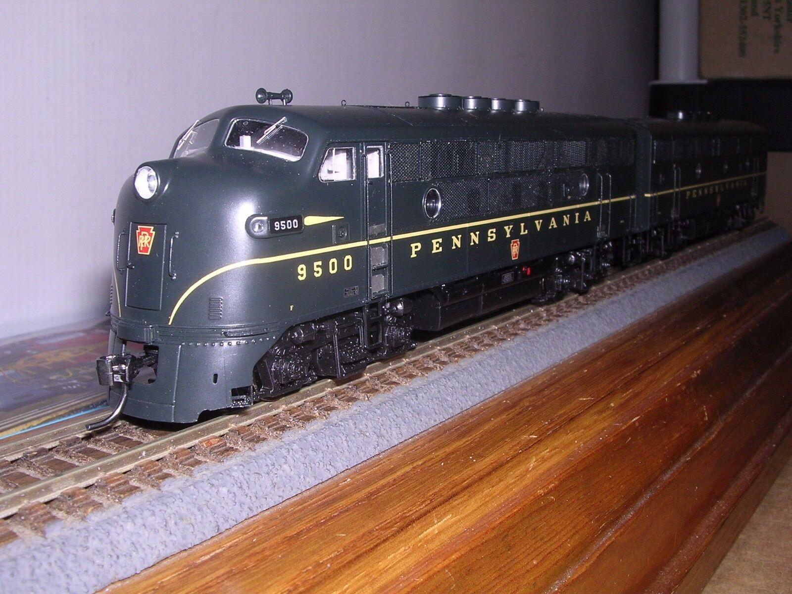 AthGenesis G2523A&B P.R.R. EMD F-3A&B locomotoras diesel 9500 con DCC y Sonido H.O.187